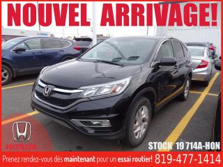 Used 2016 Honda CR-V SE+AWD+A/C+SIEGCHAUFF+BLUETOOTH+ for sale in Drummondville, QC