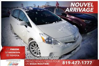 Used 2012 Toyota Prius V GROUPE TECH| TOIT PANO| HYBRID!| for sale in Drummondville, QC