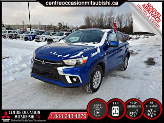 Used 2019 Mitsubishi RVR SE AWC 4X4 CLIM + CRUISE + CAMERA + BLUE for sale in Blainville, QC