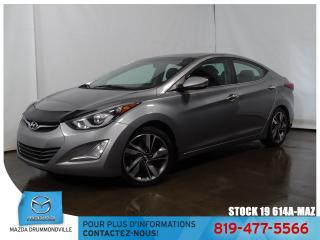 Used 2015 Hyundai Elantra Limited|CUIR|SIEGCHAUF|TOITOUV|GPS| for sale in Drummondville, QC