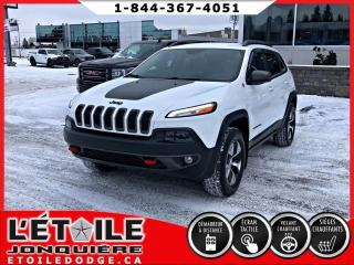 Used 2016 Jeep Cherokee TRAILHAWK V6 4X4, DEMARREUR A DISTANCE, for sale in Jonquière, QC