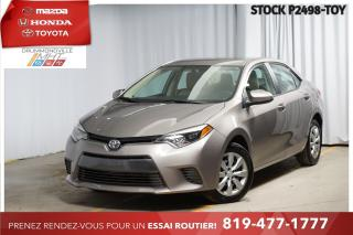 Used 2016 Toyota Corolla LE| SIÈGES CHAUFFANTS| CAM RECUL for sale in Drummondville, QC