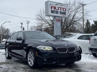 Used 2013 BMW 5 Series Bmw 528XI M/Package Xdrive Gps Cam.360 for sale in Repentigny, QC