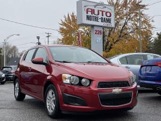Used 2012 Chevrolet Sonic Hayon 5 portes LT for sale in Repentigny, QC