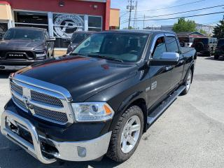 Used 2017 RAM 1500 LONGHORN CREW BOITE 6.4 for sale in Val-D'or, QC