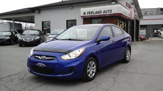 Used 2013 Hyundai Accent Berline 4 portes sièges chauffants A/C a for sale in Sherbrooke, QC