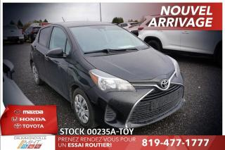 Used 2017 Toyota Yaris LE* CLIMATISATION* GROUPE ÉLECTRIQUE* for sale in Drummondville, QC