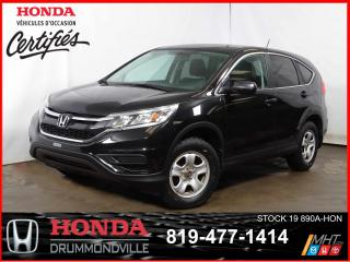 Used 2015 Honda CR-V LX+GRÉLEC+SIEGES CHAUF+CAMÉRA RECUL+JAMAIS ACCIDEN for sale in Drummondville, QC