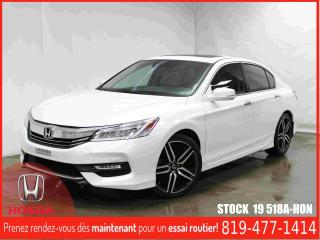 Used 2016 Honda Accord Touring V6+TOITOUV+CUIR+GPS+++ for sale in Drummondville, QC
