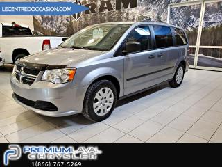 Used 2015 Dodge Grand Caravan Ensemble Valeur plus STOW AND GO 3IEM RA for sale in Laval, QC