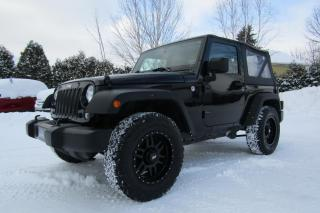 Used 2016 Jeep Wrangler Sport 4x4 2 Portes for sale in Thetford Mines, QC
