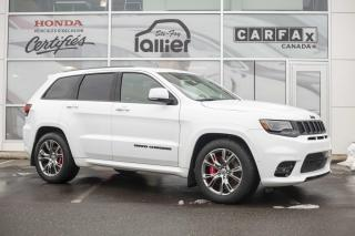 Used 2018 Jeep Grand Cherokee SRT 4x4 ***8 MAGS 8 PNEUS*** for sale in Québec, QC