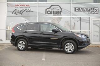 Used 2014 Honda CR-V LX ***GARANTIE GLOBALE JUSQU EN JUIN 202 for sale in Québec, QC