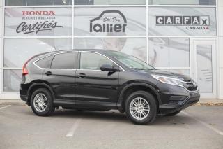 Used 2016 Honda CR-V LX AWD ***GARANTIE GLOBALE JUSQU EN JUIN for sale in Québec, QC