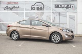 Used 2015 Hyundai Elantra SPORT ***JAMAIS ACCIDENTE*** for sale in Québec, QC