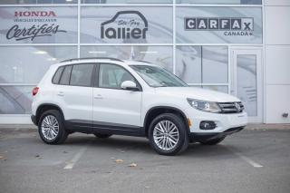 Used 2016 Volkswagen Tiguan SE AWD***BAS KILOMETRAGE*** for sale in Québec, QC