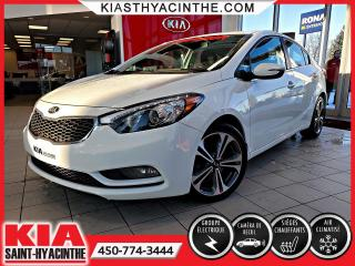 Used 2016 Kia Forte EX * CAMÉRA DE RECUL / SIÈGES CHAUFFANTS for sale in St-Hyacinthe, QC