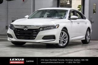 Used 2018 Honda Accord LX AUTO; HONDA SENSING CAMERASIEGES CHAUFFANT MAGS BAS KILOMÉTRAGE - DÉMARREUR À DISTANCE - SIÈGES CHAUFFANT - CAMERA - ALERTE COLLISION FRONTALE for sale in Lachine, QC
