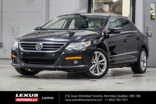 Used 2012 Volkswagen Passat SPORTLINE; CUIR TOIT SIEGES CHAUFFANT MAGS AUTOMATIQUE - CLIMATISATION - TOIT PANORAMIQUE - SIÈGES AVANT CHAUFFANT - BLUETOOTH - MAGS 17'' for sale in Lachine, QC