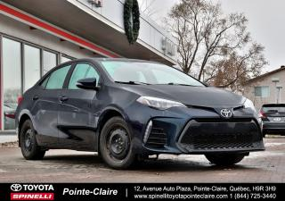 Used 2017 Toyota Corolla S PKG UPGRADE for sale in Pointe-Claire, QC