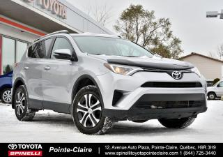 Used 2016 Toyota RAV4 LE FWD BLUETOOTH, CAMÉRA DE RECUL for sale in Pointe-Claire, QC