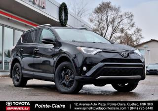 Used 2017 Toyota RAV4 SE AWD+GPS for sale in Pointe-Claire, QC