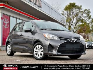 Used 2015 Toyota Yaris LE 5 VITESSE for sale in Pointe-Claire, QC