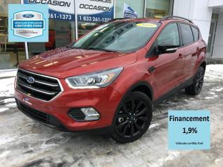 Used 2019 Ford Escape ESCAPE TITANIUM SPORT CERTIFIÉ FORD TAUX for sale in St-Georges, QC