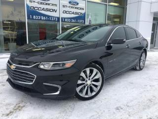 Used 2017 Chevrolet Malibu Premier 2.0L T CUIR TOIT GPS MAGS 19 ENS for sale in St-Georges, QC