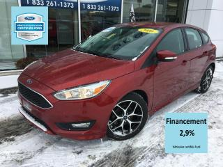 Used 2016 Ford Focus SE SPORT CERTIFIÉ FORD TAUX A 2.9% 60 MO for sale in St-Georges, QC