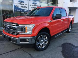 Used 2018 Ford F-150 F150 XLT XTR CREW BOITE 5 1/2 302 A 3.5L for sale in St-Georges, QC