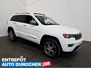 Used 2019 Jeep Grand Cherokee Limited AWD NAVIGATION - Toit Ouvrant - A/C - Cuir for sale in Laval, QC