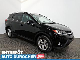 Used 2015 Toyota RAV4 XLE AWD NAVIGATION - Toit Ouvrant - A/C for sale in Laval, QC