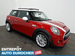 Used 2016 MINI Cooper Hardtop S TOIT OUVRANT - AIR CLIMATISÉ - Sièges Chauffants for sale in Laval, QC
