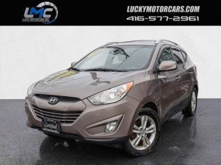 Used 2012 Hyundai Tucson GLS AWD-POWER SUNROOF-LEATHER-BLUETOOTH-130KMS-WE FINANCE for sale in Toronto, ON