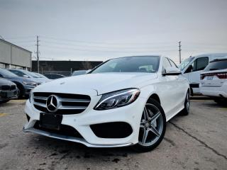 Used 2015 Mercedes-Benz C-Class HEATED LEATHER SEATS|BACKUP CAMERA|PANORAMIC ROOF|NAVIGATION for sale in Brampton, ON