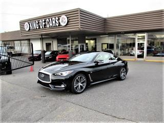 Used 2018 Infiniti Q60 3.0t Premium AWD COUPE for sale in Langley, BC