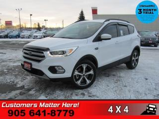 Used 2017 Ford Escape SE  4WD LEATH NAV HTD-SEATS PWR-GRP for sale in St. Catharines, ON