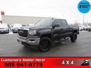 Used 2016 GMC Sierra 1500 Base  V6 4WD CAM BT LINER TONNEAU TOW for sale in St. Catharines, ON