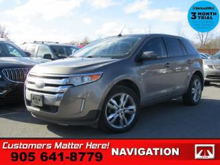 Used 2013 Ford Edge SEL  NAV LEATH  ROOF P/SEAT HS 20-CHROMES for sale in St. Catharines, ON