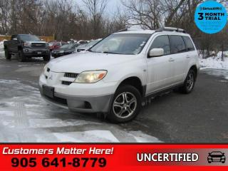 Used 2005 Mitsubishi Outlander LS  4DR LS AUTO (AS TRADED) for sale in St. Catharines, ON