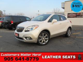 Used 2014 Buick Encore Premium  LEATH ROOF CAM BS LD P/SEATS for sale in St. Catharines, ON
