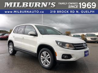 Used 2013 Volkswagen Tiguan TRENDLINE AWD for sale in Guelph, ON