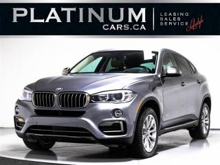 Used 2015 BMW X6 35i PREMIUM, NAV, MERINO LEATHER for sale in Toronto, ON