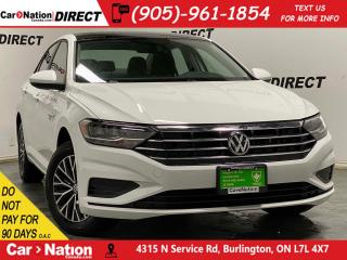 Used 2019 Volkswagen Jetta Highline| SUNROOF| LEATHER| for sale in Burlington, ON