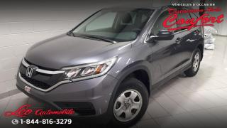 Used 2015 Honda CR-V Traction intégrale 5 portes LX for sale in Chicoutimi, QC