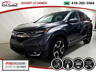 Used 2017 Honda CR-V TOURING* AWD* GPS* TOIT PANO* CUIR* for sale in Québec, QC
