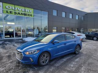 Used 2017 Hyundai Elantra Auto GL, mags, camera de recul, siège chauffant for sale in Chambly, QC