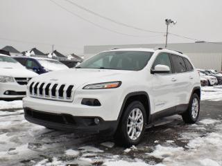 Used 2015 Jeep Cherokee NORTH 4X4 *V6*HITCH*ÉCRAN 8.4* for sale in Brossard, QC