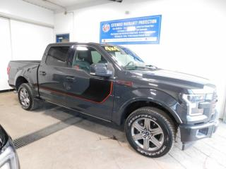Used 2017 Ford F-150 LARIAT CREW SPORT NAVI SUROOF for sale in Listowel, ON